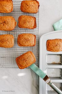The best mini loaf recipes | Gourmet Carrot Cake