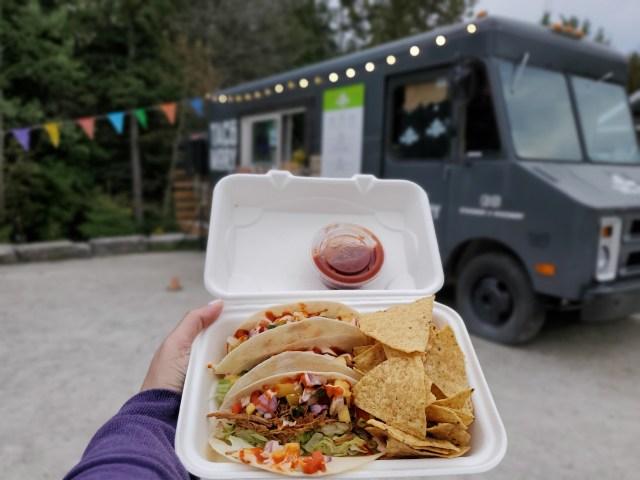 Tacomory Food Truck Tobermory, Ontario