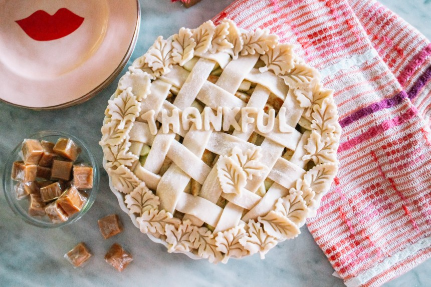 House of Kubes Salted Caramel Apple Pie with Hiland Dairy