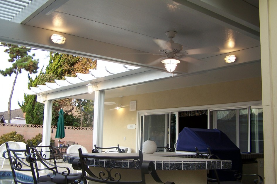 how outdoor ceiling lights improve