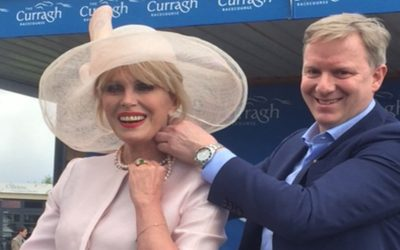 Joanna Lumley celebrates with House of Lor
