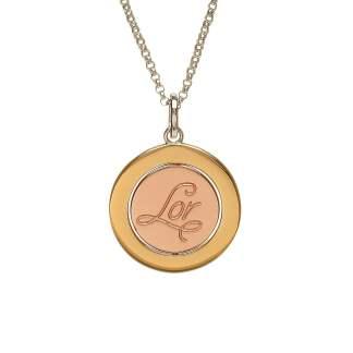 rose gold pendant