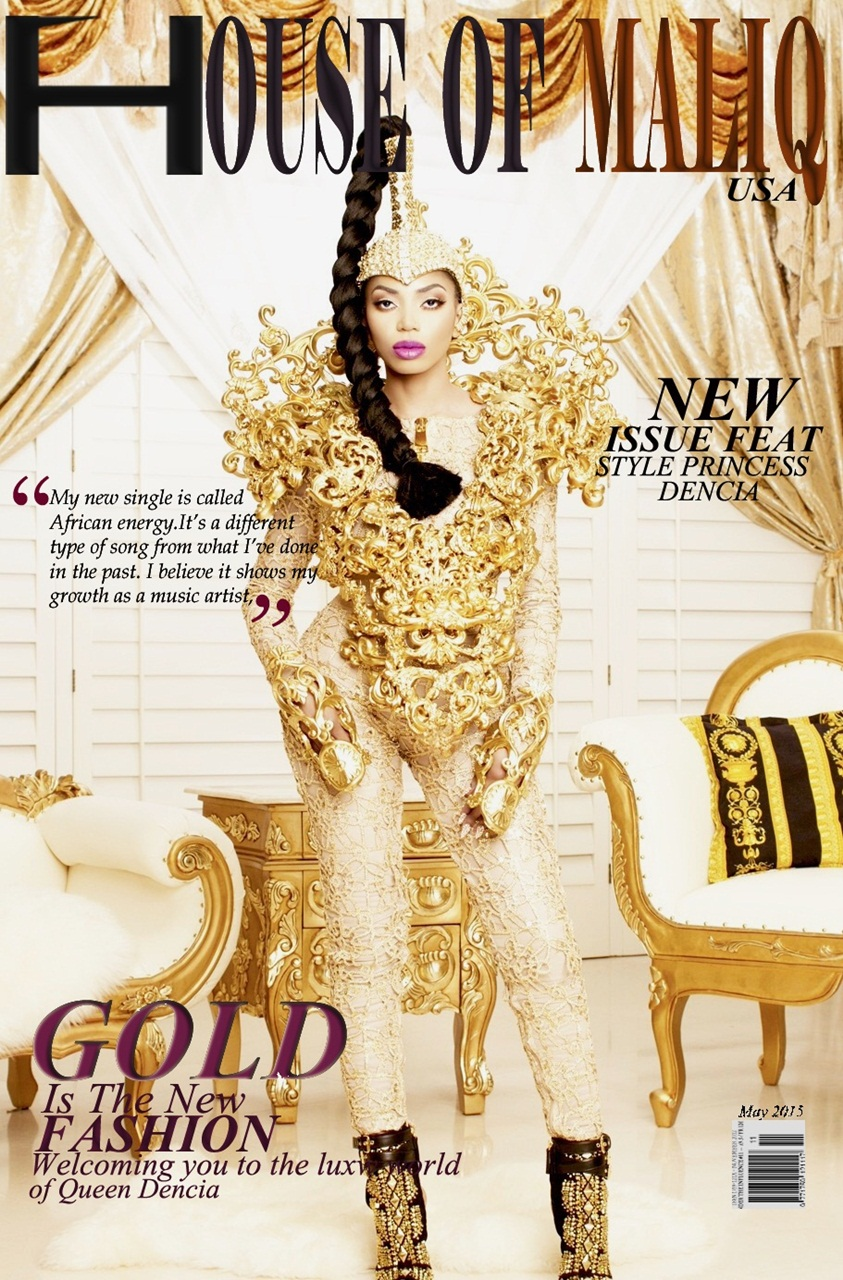 HouseOfMaliq-Magazine-2015-Dencia-Cover-March-Edition