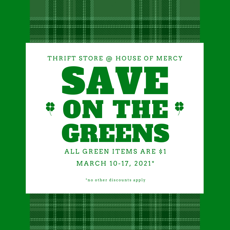 Green Sale! March 2021