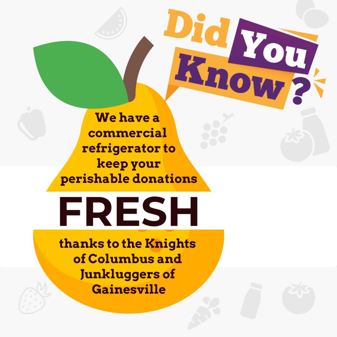 Did You Know - Fresh Food