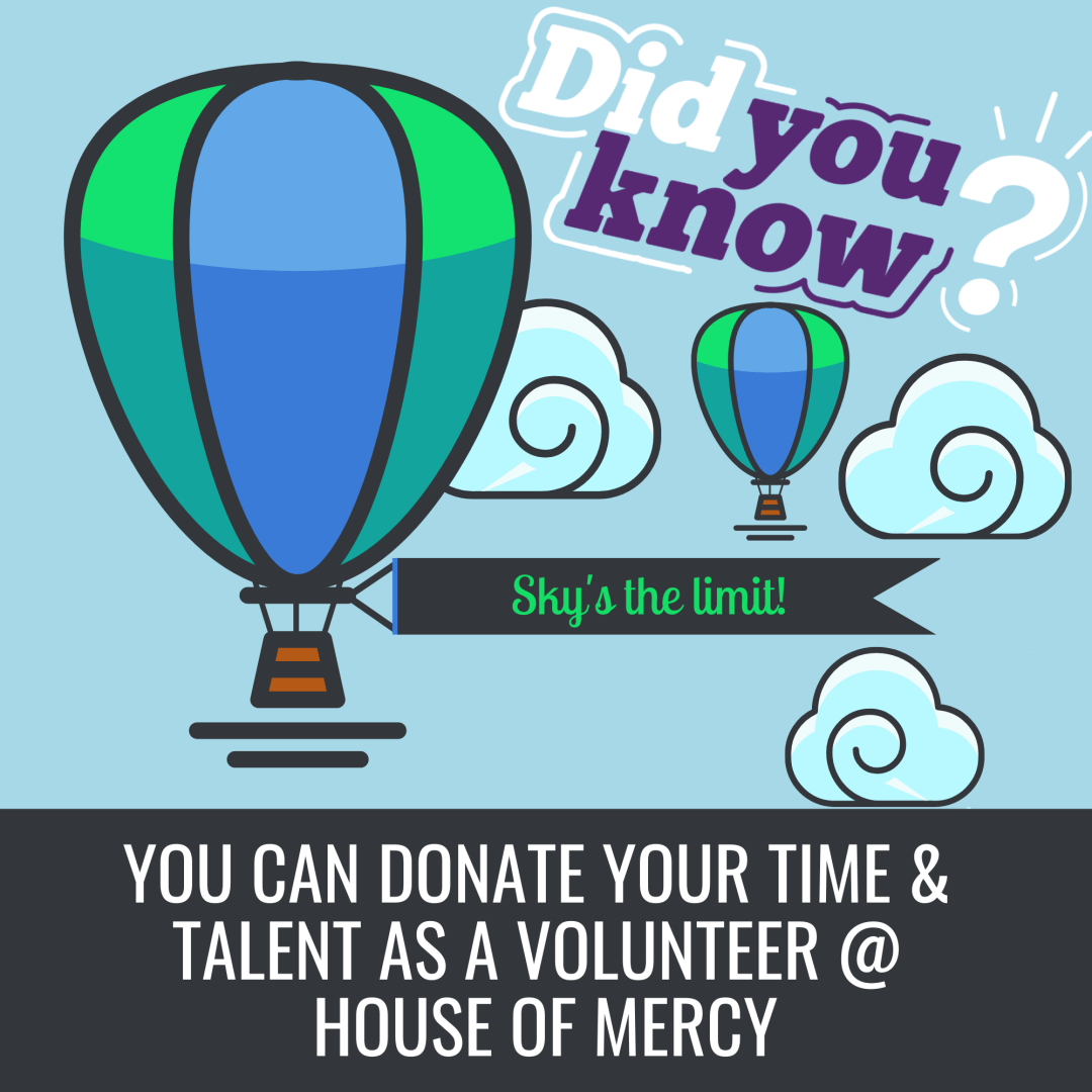Donate Time and Talents