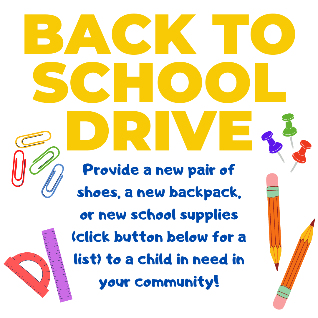 Back to School Supply Drive 2021
