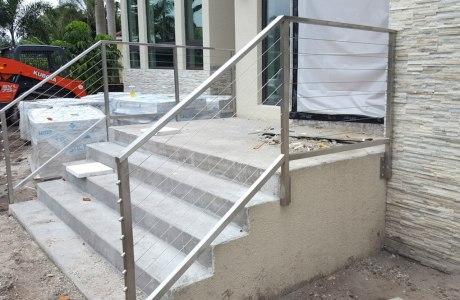 Aluminum Wire Railing