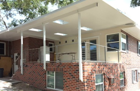 Porch Supports and Railing