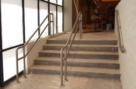 Rounded Stair Railings