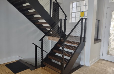 Modern Railing and Staircase