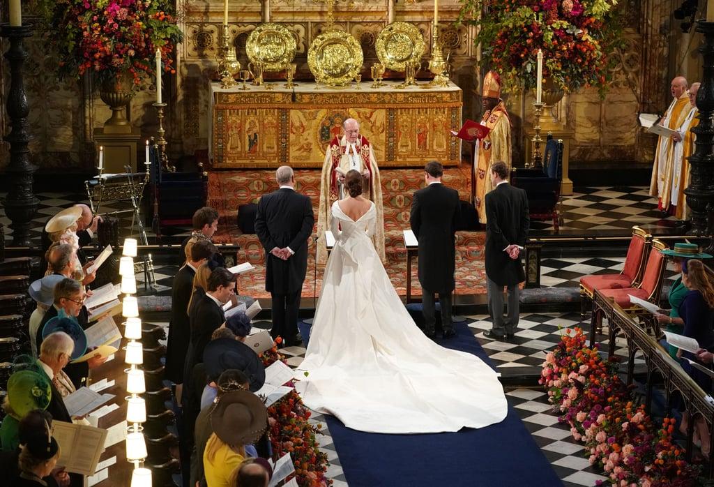 Princess Eugenie Wedding Dress Train