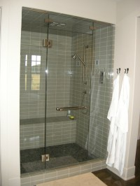 standing shower bathroom ideas