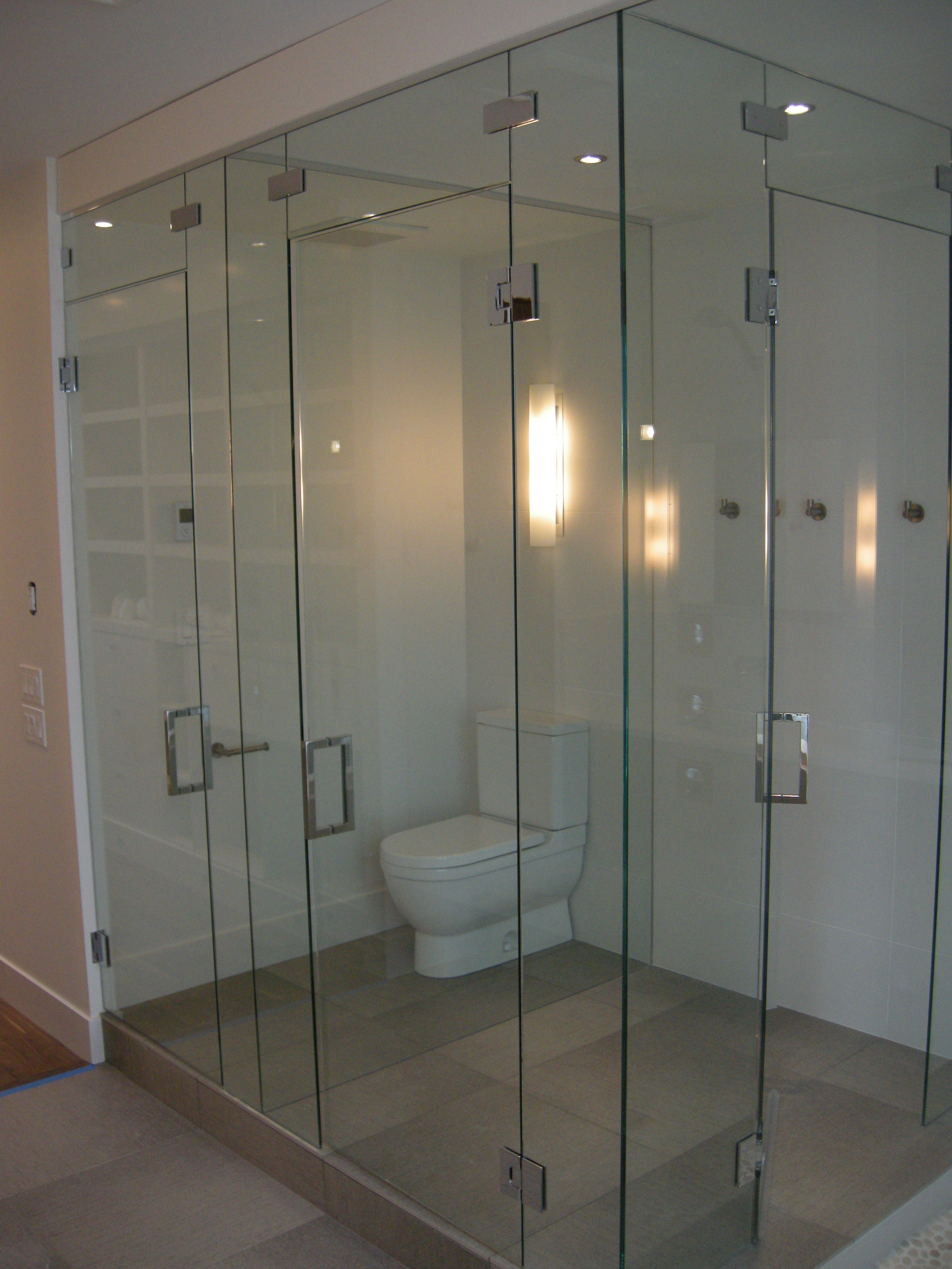 Frameless Shower Doors House Of Mirrors Glass