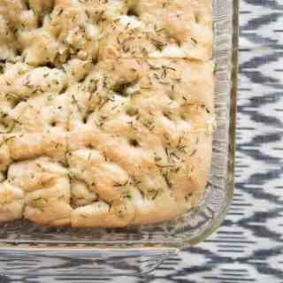Easy Rosemary Foccacia Bread