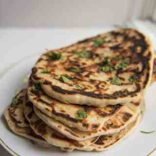 Homemade Naan House of Nash Eats