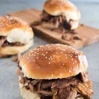 Sweet & Spicy Slow Cooker Pulled Pork