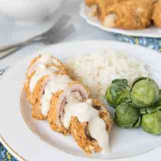 Mom's Chicken Cordon Bleu