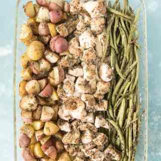 Easy One Pan Green Bean, Chicken & Potato Dinner