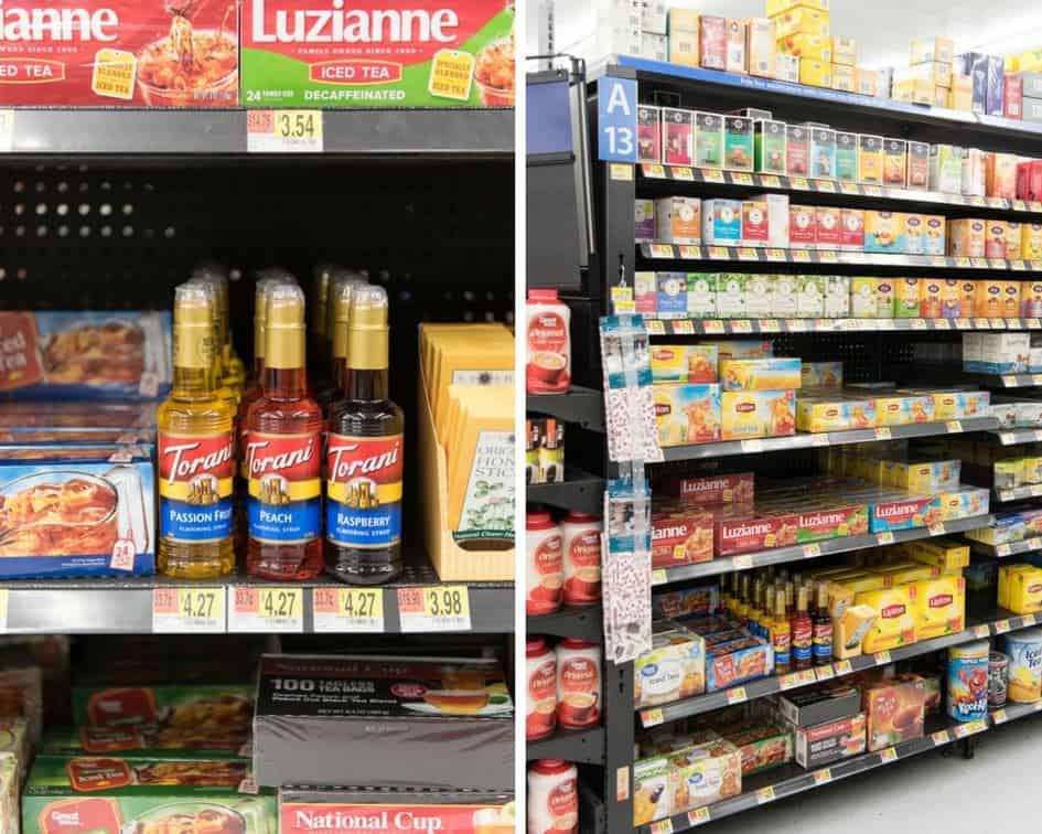 Torani Raspberry, Peach, and Passion Fruit Syrups at Walmart