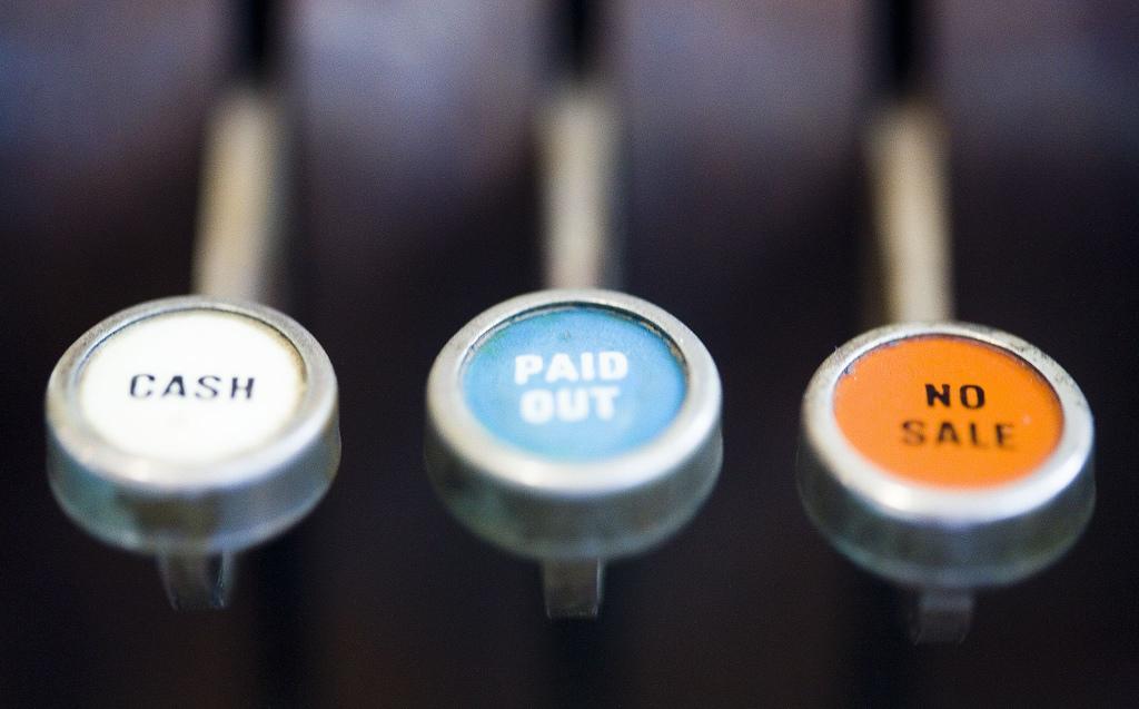 cash, paid out, no sale by Thomas Hawk