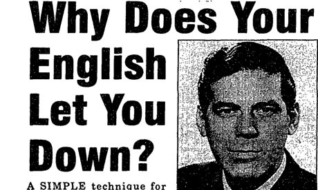 Why does your English let you down?