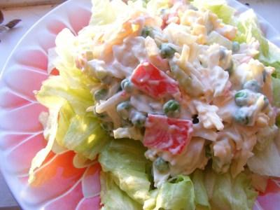 Easy Lean Crab Salad Recipe
