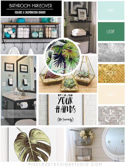Budget Make Over Inspiration Board