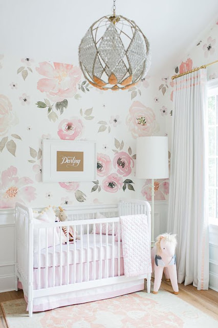 floral wall mural diy inspiration