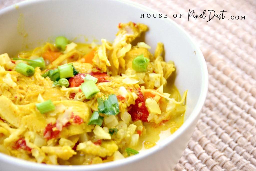 Keto Instant Pot Chicken Curry Recipe