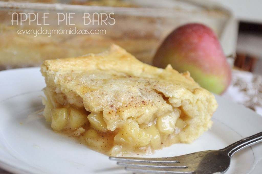 apple pie bars filling
