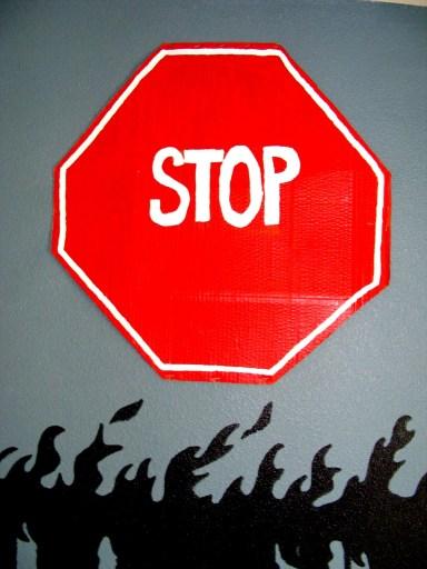 Stop Sign DIY