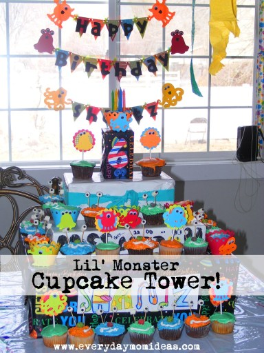 Little Monster Cake Tower