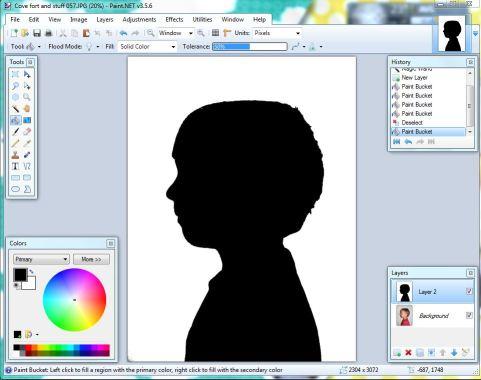 sihouette step3