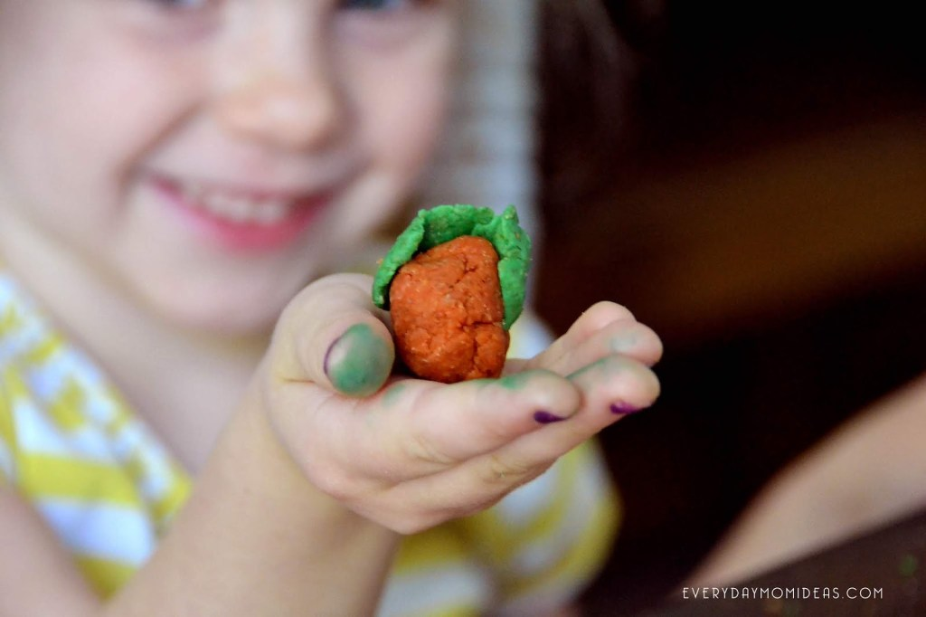 Softening Coconut Whole Wheat Play-dough (Recipe with Essential Oils)