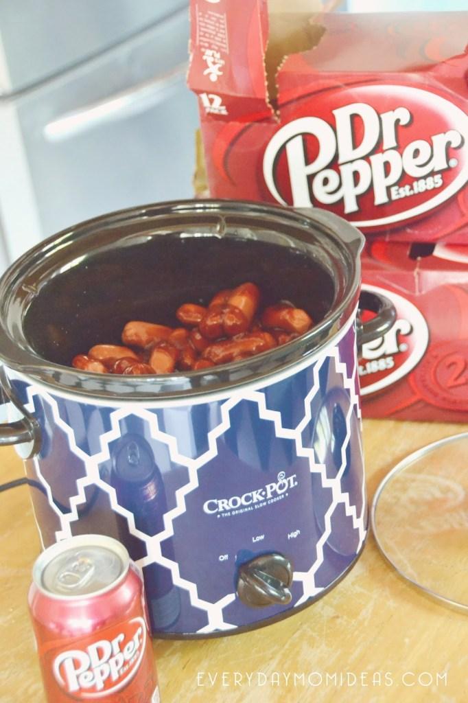 Crock Pot Dr Pepper Lil Smokies Recipe