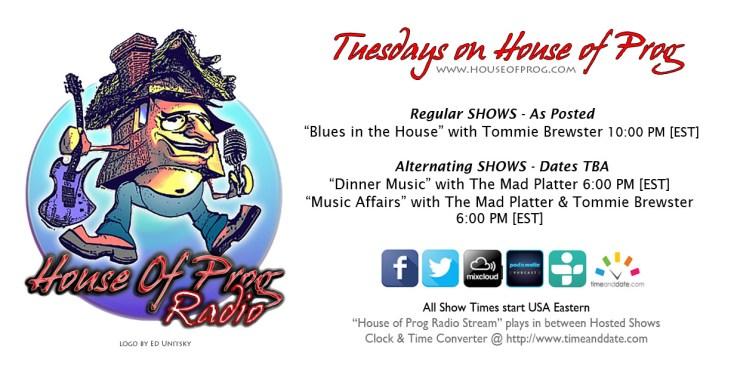 Tuesdays on House of Prog