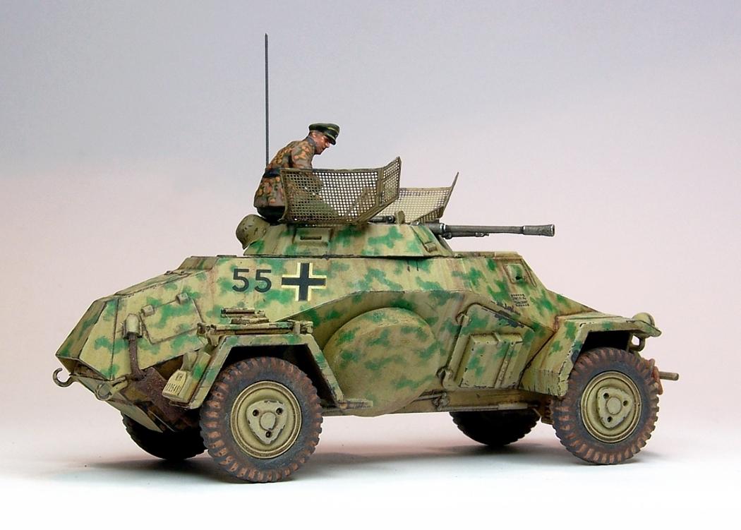 Sdkfz 222 Tamiya 1 48th Musings From The Warp