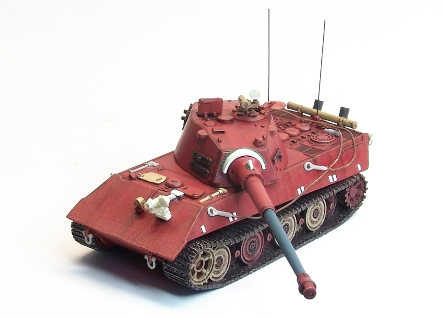 """Project '46 wip – Entwicklung E-75 12.8cm Heavy Tank """"TigerIII"""" 