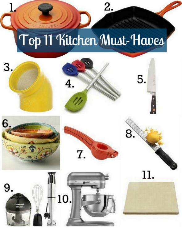 Top 11 Kitchen MustHaves