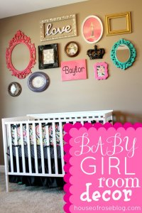 Baby Girl Room Ideas Decorating
