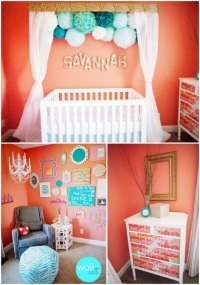 Baby Nursery Ideas for Girls