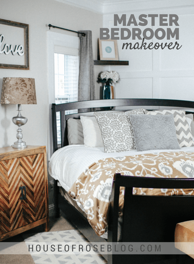Bright  Cheery Master Bedroom