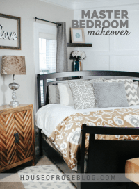 Bright & Cheery Master Bedroom