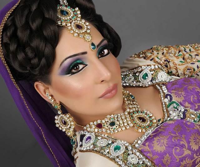 asian bridal hair & makeup artist manchester - house of rox-anna