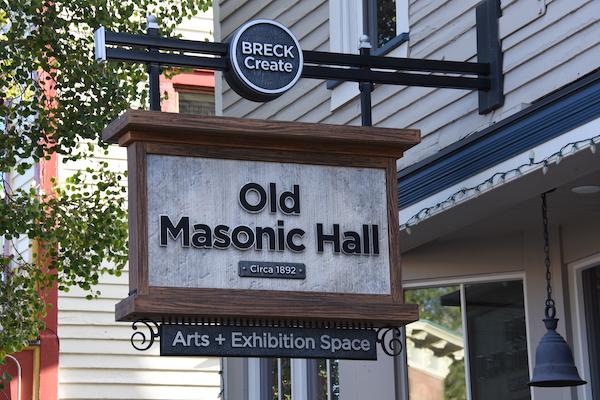BreckCreate Old Masonic Hall