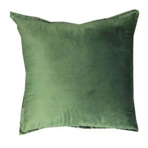 Velvet Jungle Cushion | Green Colour cushion