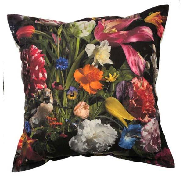 Baroque Black Scatter cushion