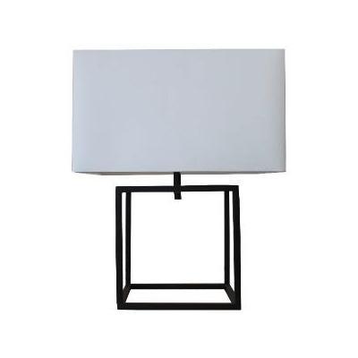 Black Cube Lamp