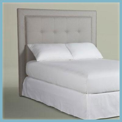 Oxford bedding headboard   luxury upholstry